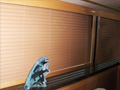 Leather Blinds produced in our custom shop of American made components.